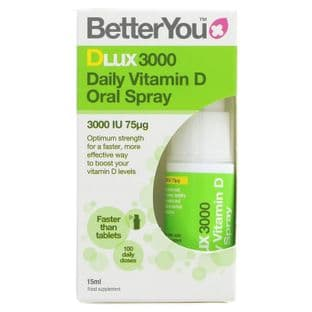 Better You Dlux3000 Daily Vitamin D Oral Spray - 15ml